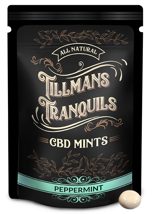 single tillmans tranquils cbd mints pack