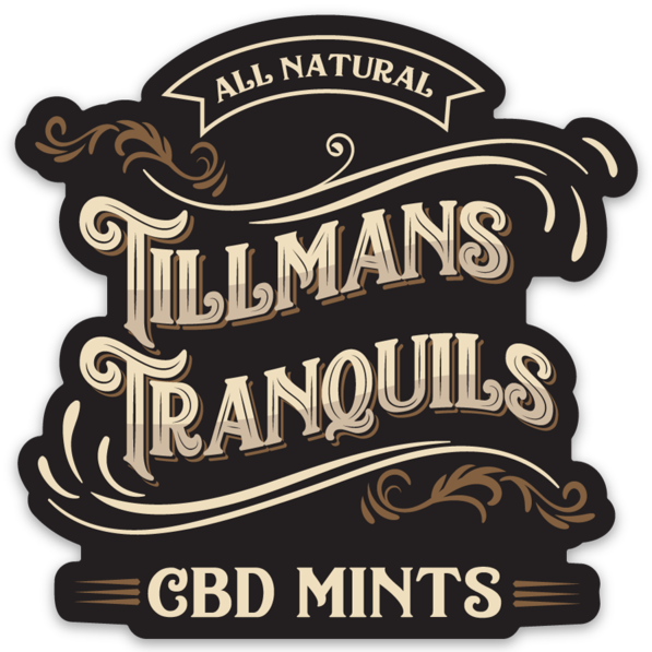 tillmans tranquils cbd mints logo