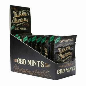 cbd mints 12 pack box
