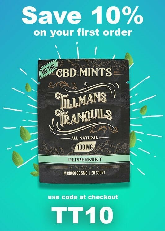 tillmans tranquils coupon code